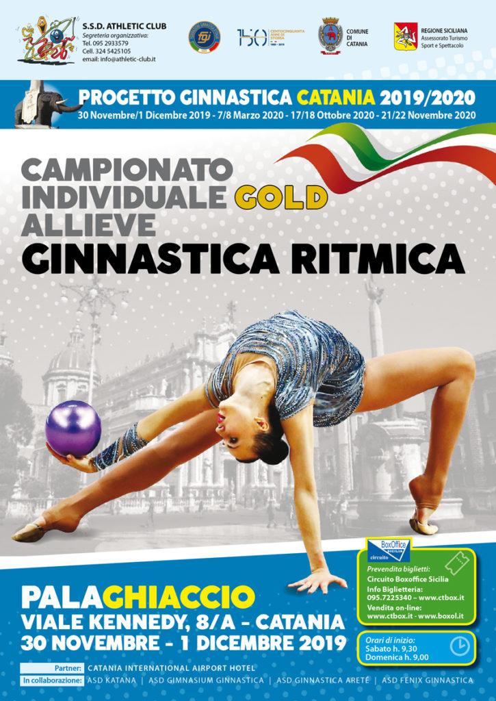 Sez. GR - Campionato Individuale Gold Allieve @ Palaghiaccio